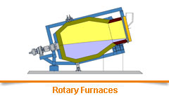 Rotary Furnaces for Aluminium Foundry